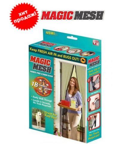 Москитная сетка на магнитах magic mesh