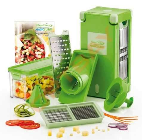 Овощерезка Nicer Dicer Magic Cube (Найсер Дайсер Мэджик куб)